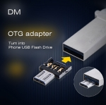 DM OTG Adapter (OTG เชื่อมต่อ USB Flash Drive เข้ากับ มือถือ Micro USB )