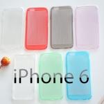 เคสยาง iPhone 6 แบบ Soft Cystal Ultra Thin Case