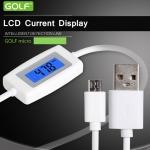 สายชาร์จ Micro USB - Golf วัดความจุ กระแสไฟฟ้า แรงดันไฟฟ้า เวลาชาร์จ ของมือถือ