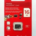 SanDisk Micro SD Card - Class 4 - 16GB