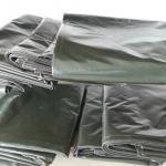 ผ้าใบ เคลือบ2ด้าน ขนาดกว้าง 2เมตร x ยาว 10เมตร รังสิต ปทุมธานี คลุมสินค้า กันสาด กันฝุ่น กันฝน กันแดด น้ำหนักเบา ทนทาน