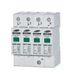 ตัวป้องกันฟ้าผ่าฝั่ง AC สำหรับระบบไฟ 3 เฟส ขนาดกระแสสูงสุด 40kA (Three Phase AC Surge Protector 40kA)
