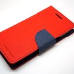 Goospery Case For Samsung Galaxy Core สีแดงเข้ม