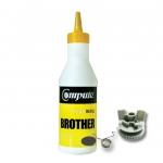 ผงหมึก+เฟือง BROTHER TN351/TN359 คอมพิวท์ Refill Toner (Black)