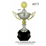 WS-6075 ถ้วยรางวัล White Silver
