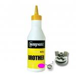ผงหมึก+เฟือง BROTHER TN351/TN359 คอมพิวท์ Refill Toner (Magenta)