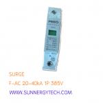 Surge แบบ SPD AC ขนาด 20-40kA 385V 1P (FEO)