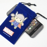 Universal Pouch For Smart Phone การ์ตูนน้ำเงิน 001