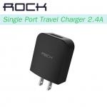 หัวชาร์จ ROCK Single Port Travel Charger (2.4A)