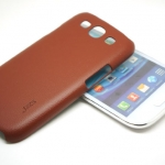 Jzzs Leather Brown Case For Samsung Galaxy S3
