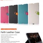 เคสฝาพับ Sony Xperia Z Ultra ของ Basrus Faith Leather Case