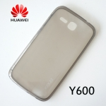 เคสยาง Huawei Ascend Y600 ของ Joolzz Crystal Ultra Slim - สีดำใส