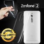 เคสยาง Asus Zenfone 2 (หน้าจอ 5.5 นิ้ว) แบบ Ultra thin Crystal Clear Soft TPU Case - สีใส