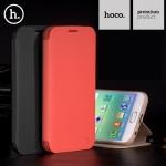 เคสฝาพับ Samsung Galaxy S6 Edge ของ HOCO Juice Series Nappa Folio Stand Leather Case