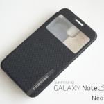 เคสฝาพับ Samaung Galaxy Note 3 Neo ของ Ferrise - สีดำ