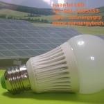 หลอดไฟ LED ขนาด 7W 220V 6000K CE