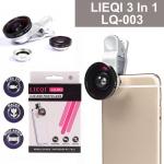 เลนส์ LIEQI 3 In 1 LQ-003 Universal Clip Lens - สีเงิน