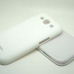 Nohon White Case For Samsung Galaxy S3