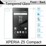 กระจกนิรภัย Xperia Z5 Compact (หน้า-หลัง) Tempered Glass Screen Protector Protective