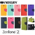 เคสฝาพับ Asus Zenfone 2 (5.5 นิ้ว) ของ Mercury Fancy Diary Leather Case