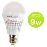 หลอดไฟ LED HOSHI E27 9W (WW) แสงสีเหลือง
