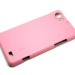 Jzzs Leather Pink Case For Oppo Finder