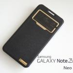 เคสฝาพับ Samsung Galaxy Note 3 Neo ของ Diamond - สีดำ