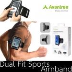 Dual Fit Sports Armband by Avantree (สำหรับหน้าจอมือถือ 4 - 5.5 นิ้ว)