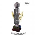 9114 ที่ระลึก/รางวัลคริสตัล Crystal Trophy & Award