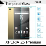 กระจกนิรภัย Xperia Z5 Premium (หน้า) Tempered Glass Screen Protector Protective