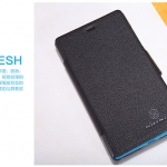 Nillkin Leather Black Cover Case For Nokia Lumia 720