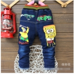กางเกงยีนส์ยืดลายการตูน POP ขนาด 2-5 ปี ไซส์ L XL XXXL