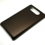 Jzzs Leather Brown Case For Nokia Lumia 820