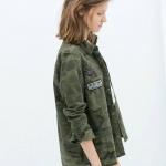 เสื้อเชิ้ตแจ็คเก็ต ZADA สำหรับสาวๆ กระดุมสแน๊ปงานสวย