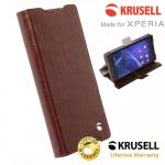 เคสฝาพับ Xperia Z5 Compact ของ Krusell Ekero FolioWallet Case