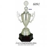 WS-6091 ถ้วยรางวัล White Silver