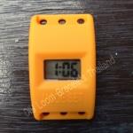 Watch Orange (ตัวเรือนนาฬิกาข้อมือสีส้ม แบบ ดิจิตอล สำหรับ ยางถักLoom Bands)