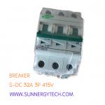 Breaker แบบ MCB DC ขนาด 32A 415V 3P (SNT)