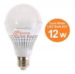 หลอดไฟ LED HOSHI E27 12W (CW) Day แสงสีขาว