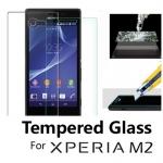 กระจกนิรภัยสำหรับ Sony Xperia M2 (Tempered Glass Screen Protector)