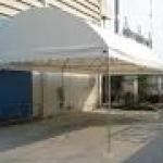 เต็นท์ทรงโค้ง เต็นท์งานพิธี ขนาด กว้าง5เมตร x ยาว10 เมตร สูง2.5เมตร