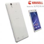 เคส Xperia C4 ของ Krusell Crystal Clear Cover Case - สีใส
