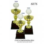 WS-6076 ถ้วยรางวัล White Silver