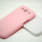Nohon Light-Pink Case For Samsung Galaxy S3