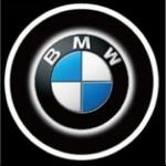ไฟโลโก้ส่องพื้น BMW