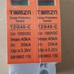 Surge แบบ SPD DC 20-40kA 1000V 2P (TMZ)