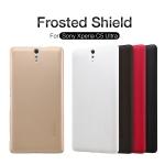 เคส Xperia C5 Ultra ของ Nillkin Super Frosted Shield Case +ฟิล์มกันรอย