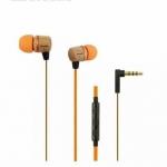 หูฟัง awei ES-16hi หัวลายไม้(แบบเสียบสาย aux) ส่งฟรี EMS