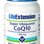 Life Extension Super Ubiquinol CoQ10 with Enhanced MItochondrial Support 100 mg 60 Softgels