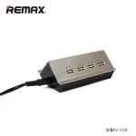 Remax Adapter Hub 4USB 4.2A RHUB-402- Gold